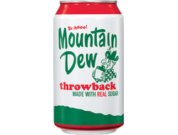 mountain dew throwback(США)