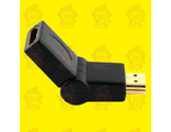 Adapter 90°-180° HDMI (F) -HDMI (M), Male To Female