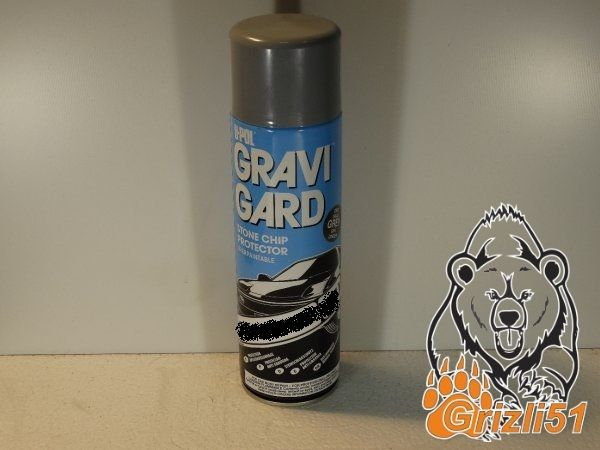 U-POL Gravi-Guard HS серый 500мл. (аэрозоль)