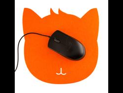 Коврик для мыши CAT рыжий