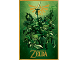 Постер Maxi Pyramid: Nintendo: The Legend Of Zelda (Link)