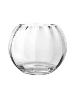 Ваза стекло VASE GLOBE CLEAR D25X20CM GLASSарт.32175
