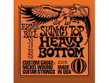 Струны металлические Ernie Ball 2215 Skinny Top Heavy Bottom Nickel