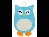 Махровая мочалка рукавичка Baby Owl Roxy Kids сова