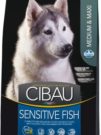Farmina CIBAU  Sensetive MEDIUM/MAXI Fish (Рыба)