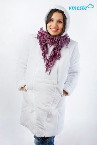 White winter jacket 3-in-1