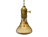 ЛАМПА ITERIA VINTAGE MARRAKESH GOLDEN E27 40W (АРТ. BR95/23F1G/40W)