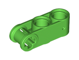 Technic, Axle and Pin Connector Perpendicular 3L with 2 Pin Holes, Bright Green (42003 / 6097398)