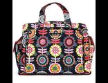 Дорожная сумка или сумка для двойни Ju-Ju-Be Be Prepared dancing dahlias