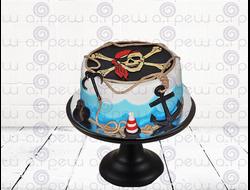 """Торт № 13 """"Пират"""" (Детские торты)"""