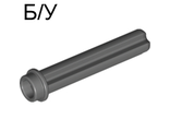 ! Б/У - Technic, Axle 3 with Stud, Dark Bluish Gray (6587 / 4211086 / 6129590 / 6587199) - Б/У