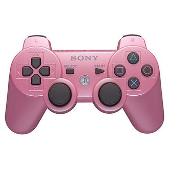 PS 3 Controller Wireless Dual Shock Pink