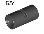 ! Б/У - Technic, Pin Connector Round 2L with Slot Pin Joiner Round, Black (62462 / 4526982 / 6173119) - Б/У