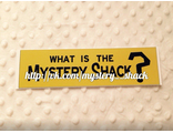 "Наклейка ""What is the Mystery Shack?"""