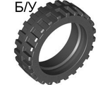 ! Б/У - Tire 43.2 x 14 Offset Tread, Black (56898 / 4539268) - Б/У