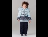 BILEMI Комплект для девочек арт 316588 (голубой и белый)