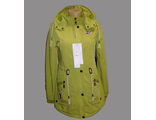 Женская весенняя куртка желтая 002-087