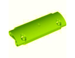 Technic, Panel Curved 11 x 3 with 2 Pin Holes through Panel Surface, Lime (62531 / 4583528)