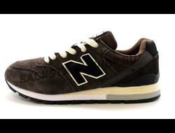 Мужские кроссовки New Balance 996 Brown замшевые