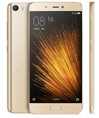 Смартфон Mi 5 3 GB RAM/64 ROM золотой