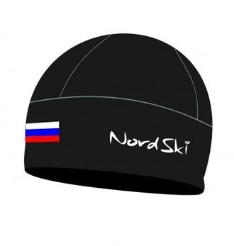 Шапка NordSki Active Black Rus