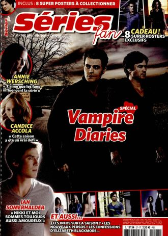 SERIES FAN Magazine № 27 February 2016 Vampire Diaries Special ИНОСТРАННЫЕ ЖУРНАЛЫ О ПОП МУЗЫКЕ, Дне