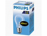 Лампа накаливания А55 CL 60V E27 PHILIPS