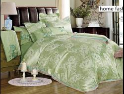 Артикул H018. Элитное постельное белье на 100% хлопковой основе с использованием шелковой нити,декорировано вышивкой