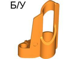 ! Б/У - Technic, Panel Fairing # 6 Small Short, Large Hole, Side B, Orange (32528 / 4157373 / 4286203) - Б/У