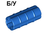 ! Б/У - Technic, Axle Connector 2L  Ridged Undetermined Type , Blue (6538) - Б/У