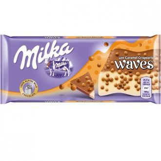 Milka Waves Caramel 88г