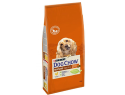 Dog Chow Mature Adult Дог Чау Матюр корм для собак всех пород старше 5 лет - курица, 14 кг