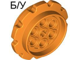 ! Б/У - Technic Tread Sprocket Wheel Large, Orange (57519 / 4528407) - Б/У