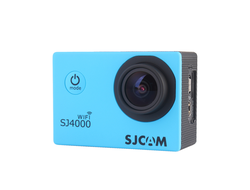 Экшн-камера SJCAM SJ4000 Sports HD DV WiFi синяя