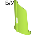 ! Б/У - Technic, Panel Fairing #20 Large Long, Small Hole, Side A, Lime (44350 / 4277115) - Б/У