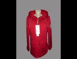 Женская весенняя куртка красная 002-083