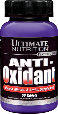 (Ultimate Nutrition) Anti-Oxidant - (50 табл)