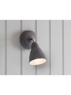 Chiswick Wall Light in Charcoal - Steel  цвет Карбон арт.LCO25