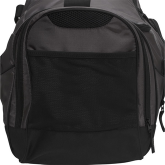 Сумка спортивная Asics Edge II Medium Duffle Bag Black ZR3435 фото карман сбоку