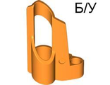 ! Б/У - Technic, Panel Fairing # 5 Small Short, Large Hole, Side A, Orange (32527 / 4157375 / 4286204) - Б/У
