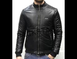 Мужская куртка Diesel Black демисезонная