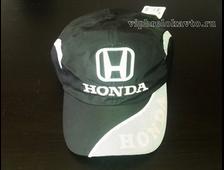 Бейсболка с логотипом авто HONDA (черная)