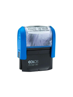ОСНАСТКА ДЛЯ ШТАМПА COLOP PRINTER 20 NEW; 38Х14 ММ.
