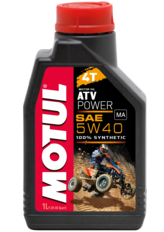 Масло для квадроцикла Motul ATV power 5w40 4T (Синтетика) - 1Л