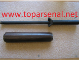 SKS gas pipe tube with wooden cover for sale