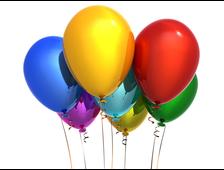 Воздушный гелевый шарик