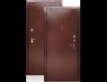 Металлическая дверь ДА-9  УЛИЦА металл-металл