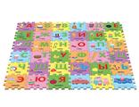 Развивающий детский коврик пазл Peppa Pig Учим азбуку свинка пеппа