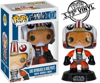 Funko Pop! Star Wars Pilot Luke Skywalker | Фанко Поп! Пилот Люк Скайуокер