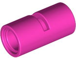 Technic, Pin Connector Round 2L with Slot Pin Joiner Round, Dark Pink (62462 / 6263790)